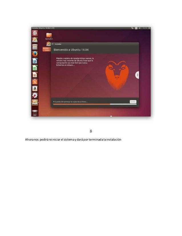 manual de instalacion de ubuntu 14 rh slideshare net manual de instalacion de ubuntu pdf manual de instalacion de ubuntu server