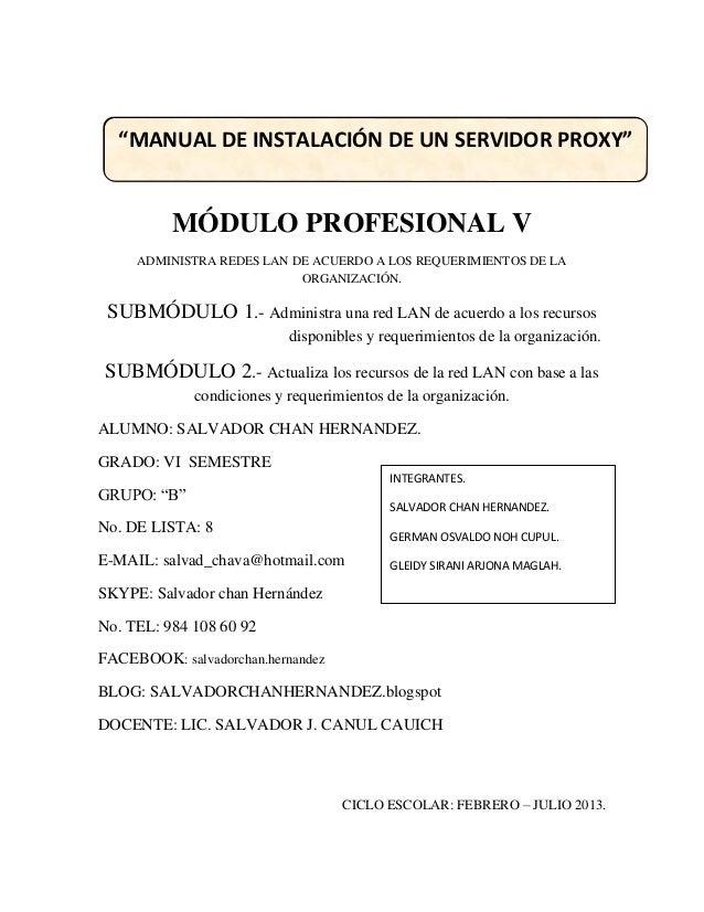MÓDULO PROFESIONAL VADMINISTRA REDES LAN DE ACUERDO A LOS REQUERIMIENTOS DE LAORGANIZACIÓN.SUBMÓDULO 1.- Administra una re...