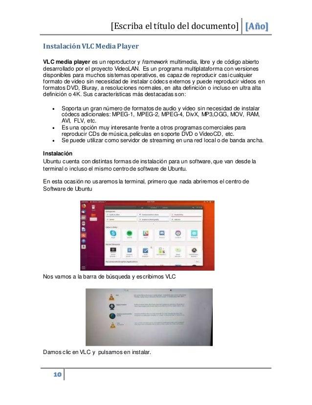 Manual de instalacion Ubuntu