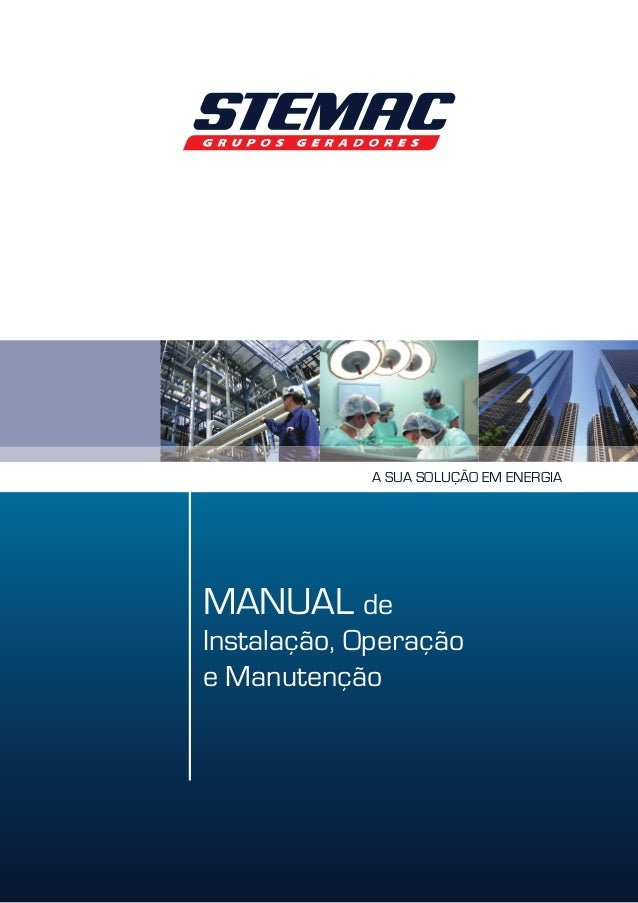 3744f226313 Manual de instalação operação e manutenção gmg diesel