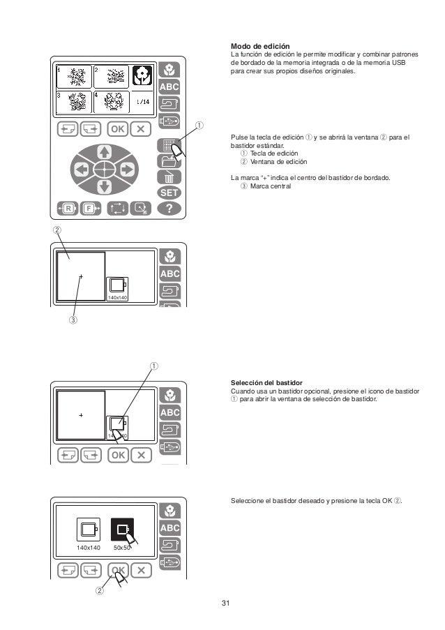 Manual de instrucciones MC200E JANOME, maquina bordadora MC200E
