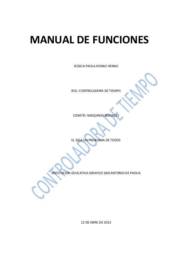 Manual de instrucciones paola