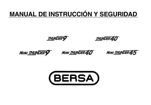 MANUAL DE INSTRUCCIÓN Y SEGURIDAD                1