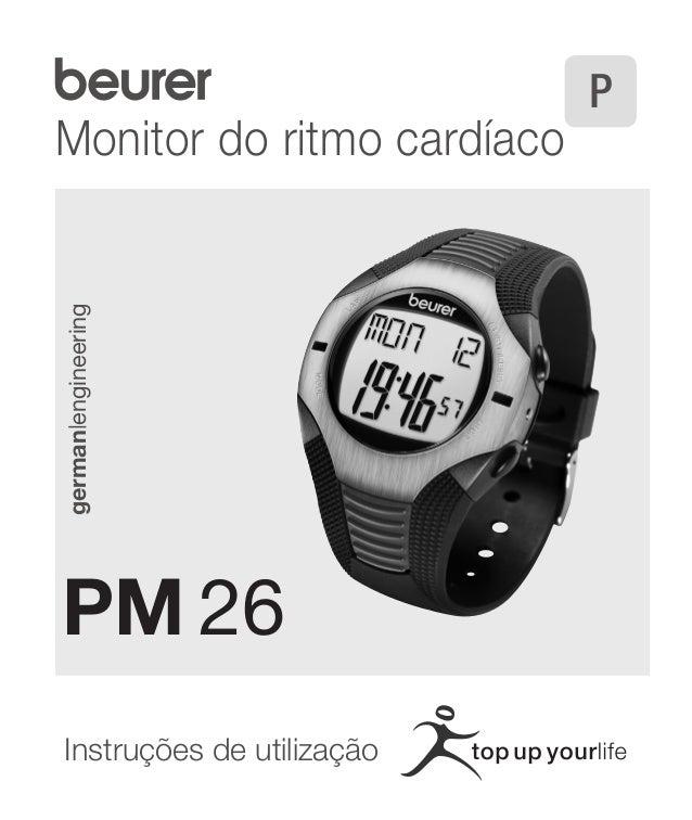 Monitor do ritmo cardíaco  Instruções de utilização german|engineering  PM 26  P