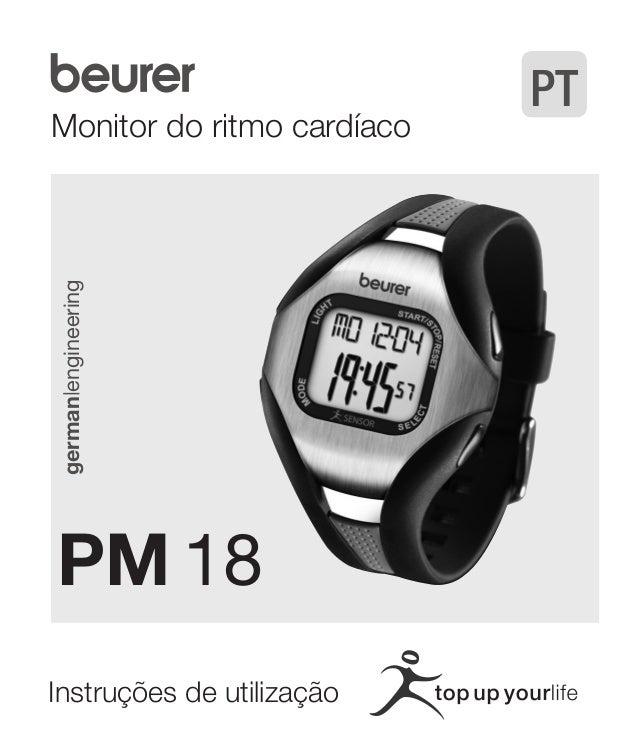 Monitor do ritmo cardíaco  german|engineering  PM 18  Instruções de utilização  PT