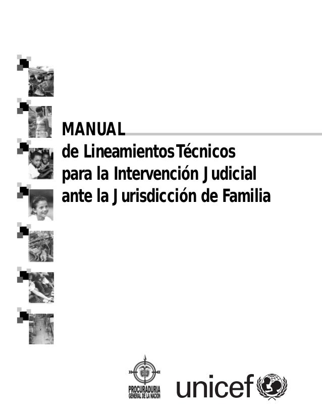 Manual de Lineamientos Técnicos para la Intervención