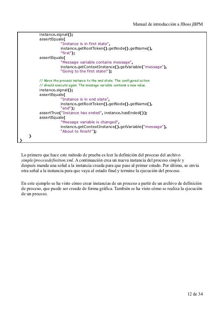 Manual de introduccion a JBoss jBPM