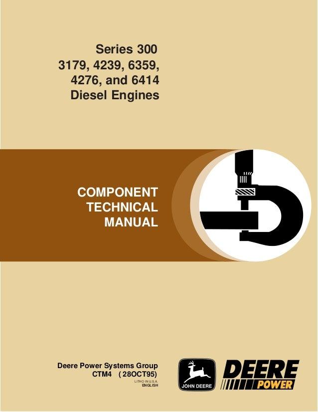manual de jhon dere serie 300 rh slideshare net John Deere Parts Catalog John Deere Parts Catalog