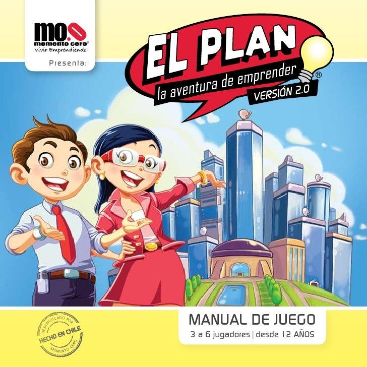 Presenta :             MANUAL DE JUEGO             3 a 6 jugadores desde 12 AÑOS