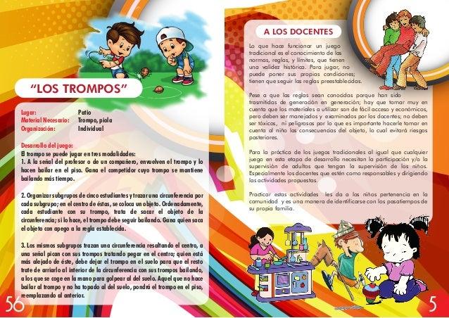 Manual De Juegos Tradicionales