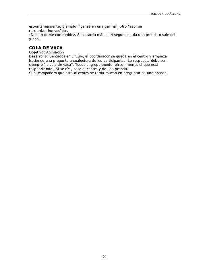 Manual De Juegos Y Dinamicas De Grupo