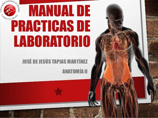 Anatomia Manual de laboratorio