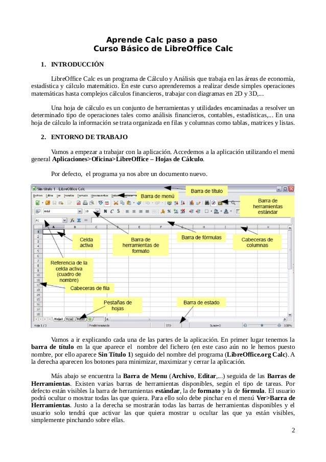 Manual práctico de Hojas de Cálculo con LibreOffice Calc (2017)