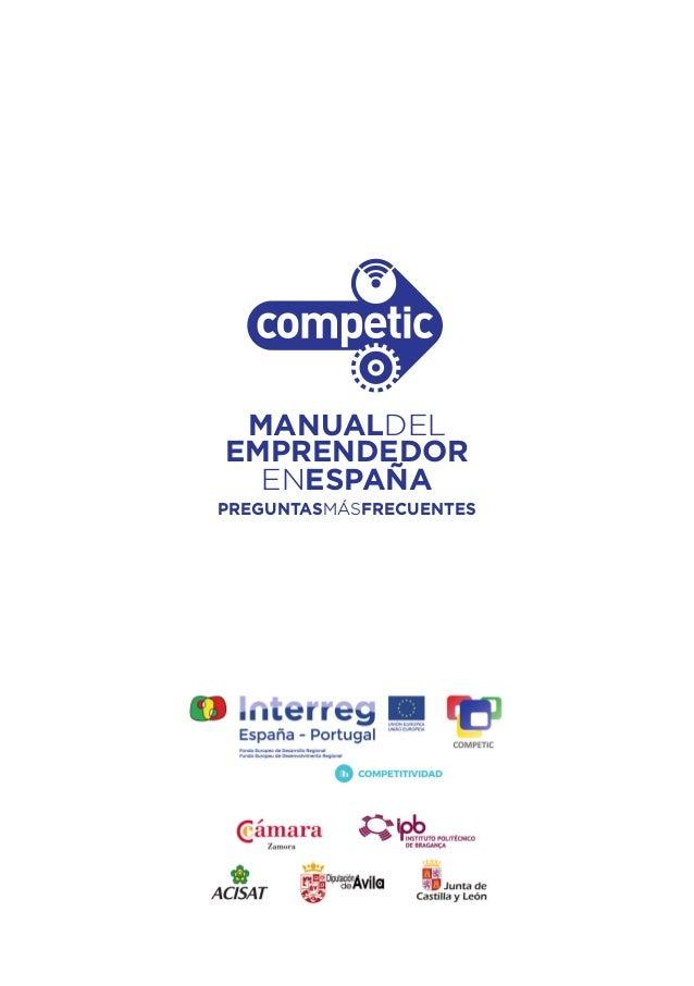 Manual del Emprendedor en España Slide 3