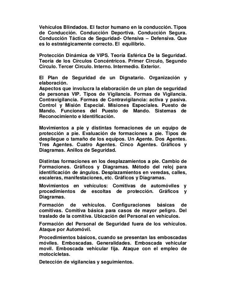 manual del escolta guardaespaldas rh es slideshare net