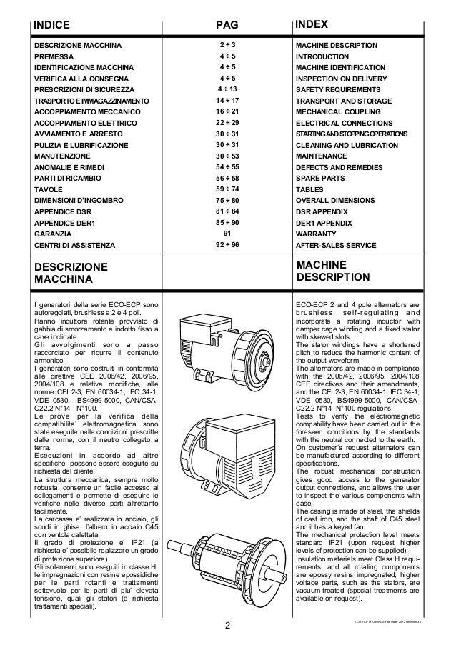 Manual del generador mecc alte 32 3s-4 sdmo j30 on