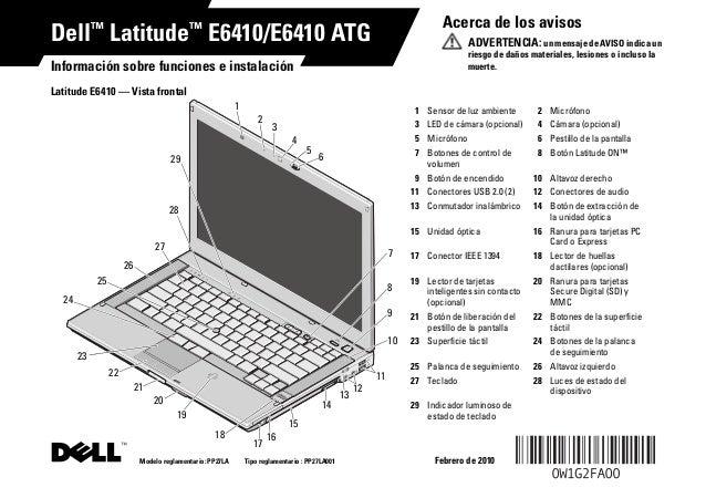 Dell latitud de manual e6410