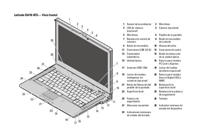 Manual Dell Latitude e6410
