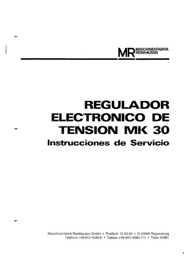 Manual del mk30