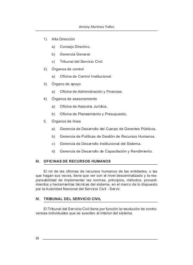 26 Antony Martínez Trelles III. REGLAS DE LA CAPACITACIÓN Las reglas de capacitación en el Sector Público en su conjunto ...