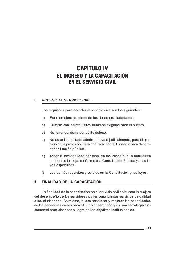 29 CAPÍTULO V EL RENDIMIENTO Y LA EVALUACIÓN DEL DESEMPEÑO EN EL SERVICIO CIVIL I. ENTE RECTOR Conforme a la normativa vi...