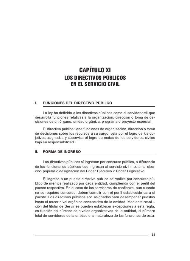 63 CAPÍTULO XIII SERVIDORES DE ACTIVIDADES COMPLEMENTARIAS EN EL SERVICIO CIVIL I.FUNCIONES Los servidores de actividades...
