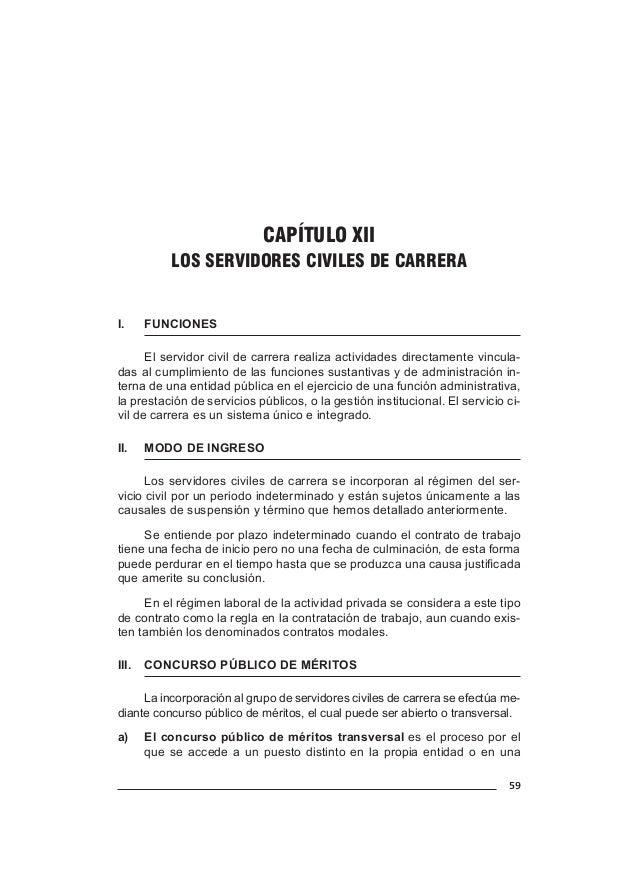 67 CAPÍTULO XV DISPOSICIONES COMUNES PARA LOS SERVIDORES CIVILES I. EL DESPLAZAMIENTO El desplazamiento de personal es el...