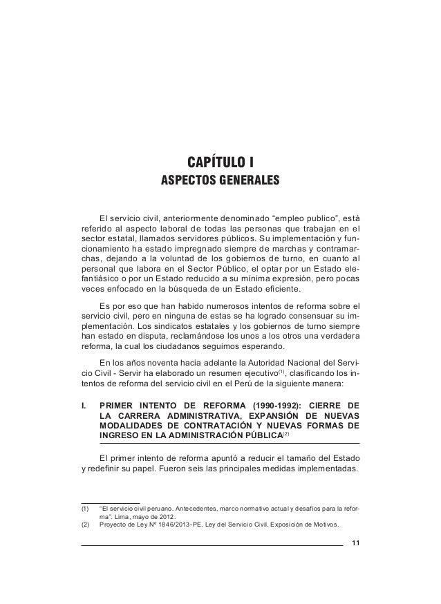 14 Antony Martínez Trelles los trabajadores del Sector Público a partir de las funciones que desem- peñan y no por el nive...