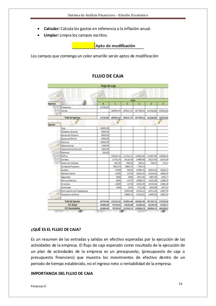 Manual del sistema de finanzas