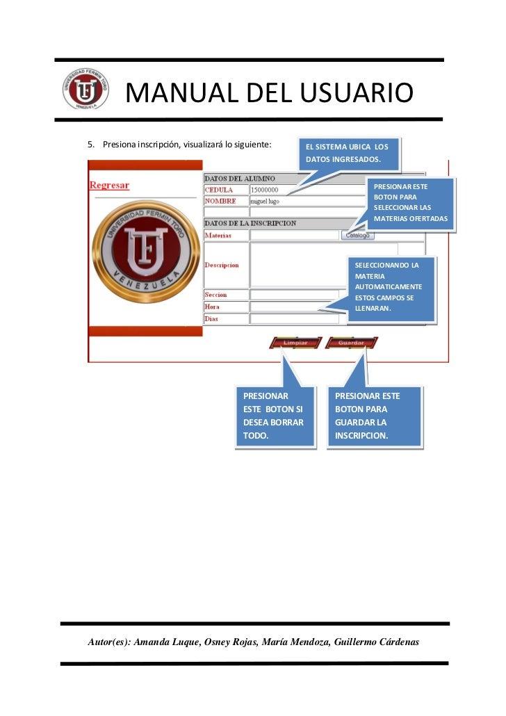 Manual del usuario pagina web uft for Sitio web ministerio del interior
