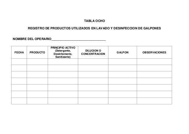 Manual de manejo para certificacion de granjas bioseguras for Manual de limpieza y desinfeccion para una cocina