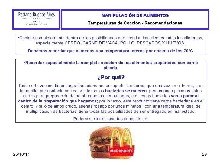 Manual de manipulacion de alimentos - Carne manipulacion de alimentos ...