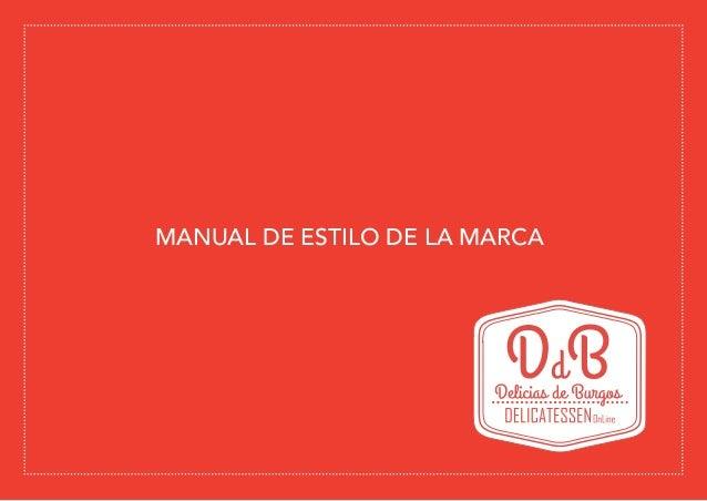 MANUAL DE ESTILO DE LA MARCA