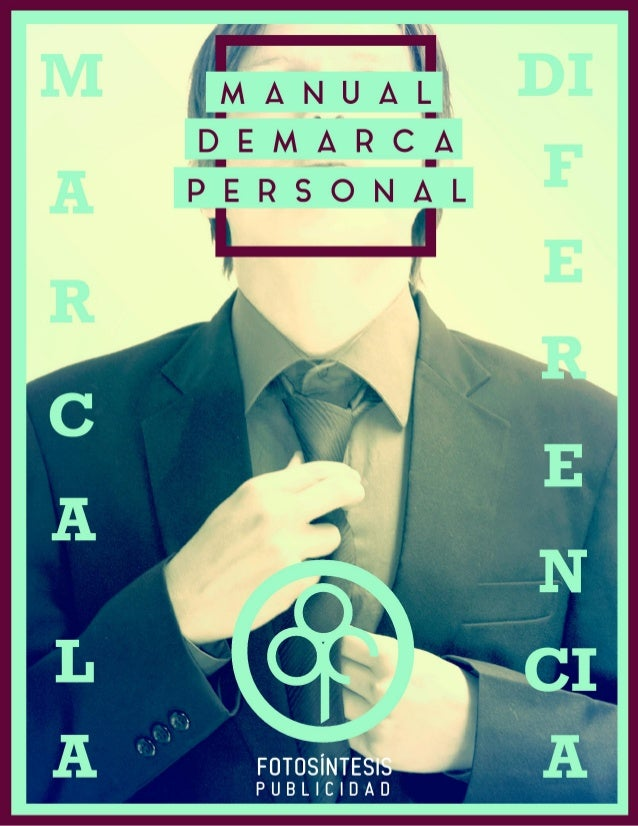 Manual de marca personal, Manuel Alejandro Gonzalez