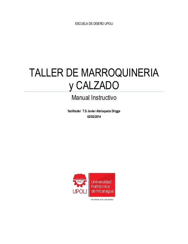 Manual Instructivo de Marroquineria