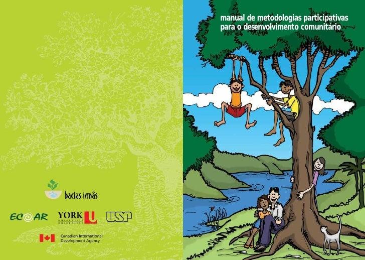 manual de metodologias participativas      para o desenvolvimento comunitário         manual de metodologias participativa...