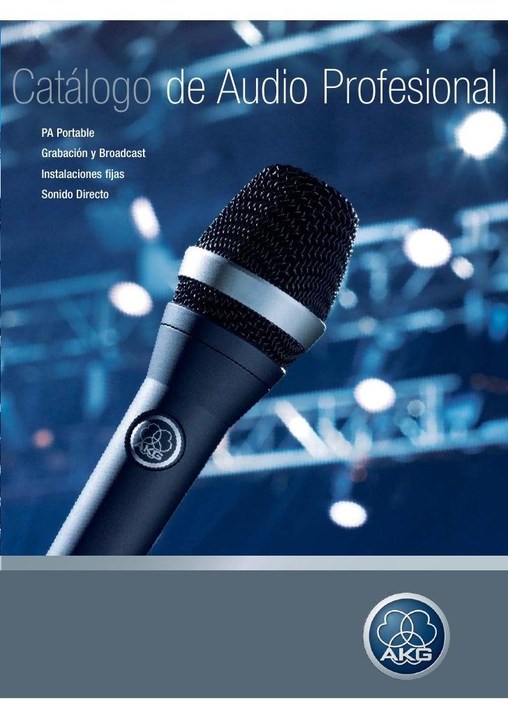 Manual de microfonos akg