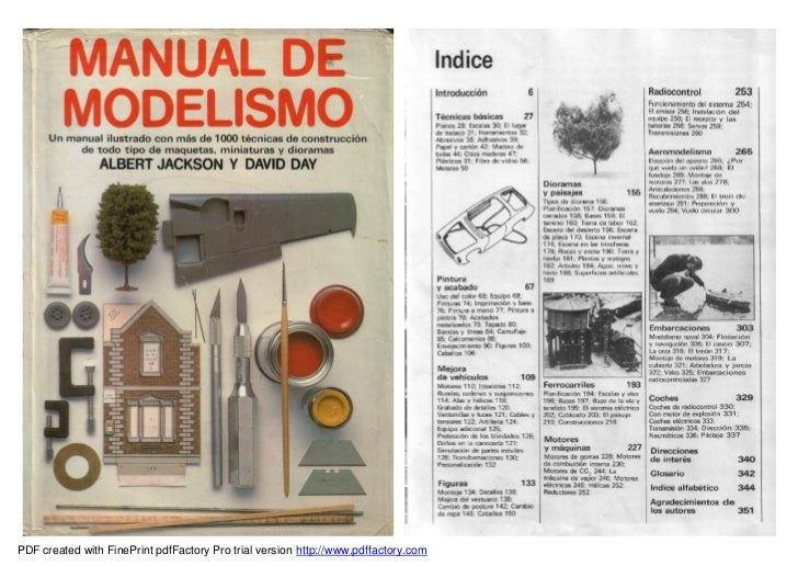 Manual de modelismo for Manual de acuicultura pdf