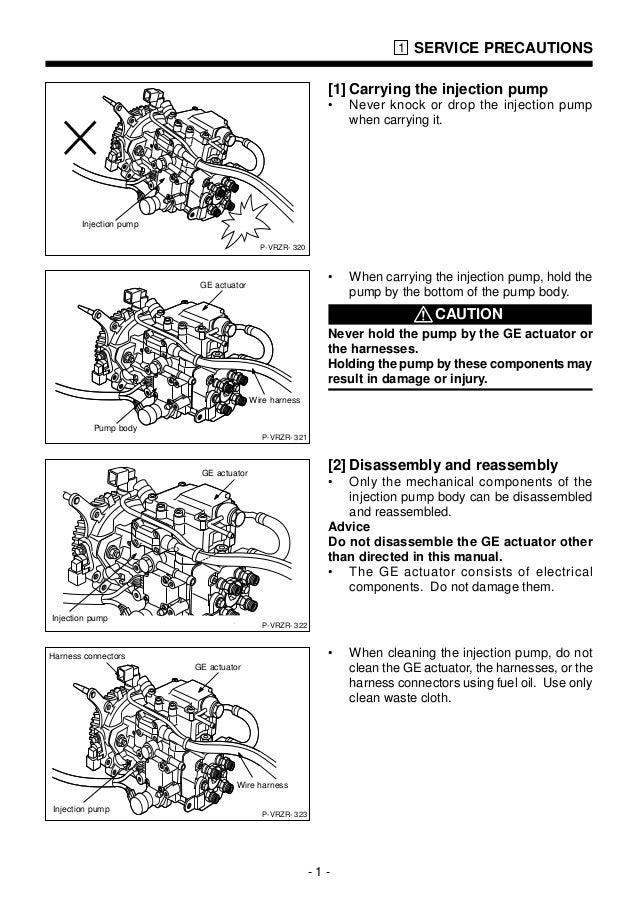 manual de montagem e calibragem bomba covec f 3050 3051 rh slideshare net Zexel Pump Onan Zexel Pump 53010