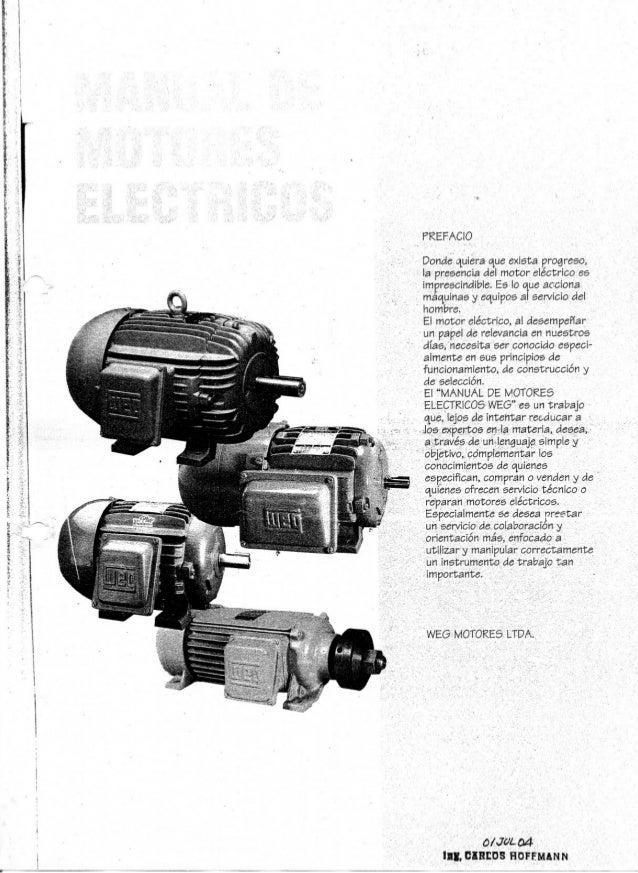 Manual de motores electricos weg
