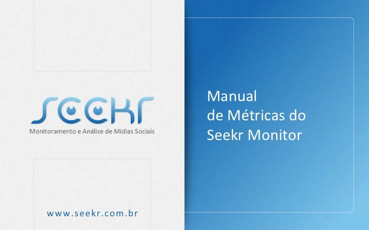 Manualde Métricas doSeekr Monitor