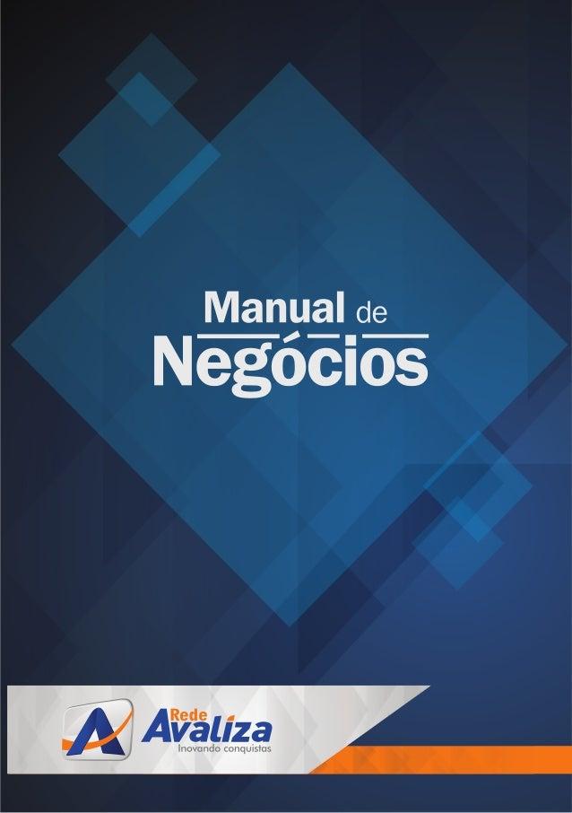 Manual de Negócios Rede Avaliza