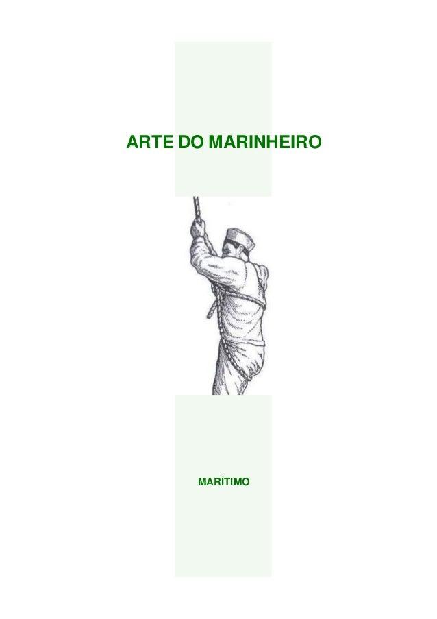 ARTE DO MARINHEIRO MARÍTIMO