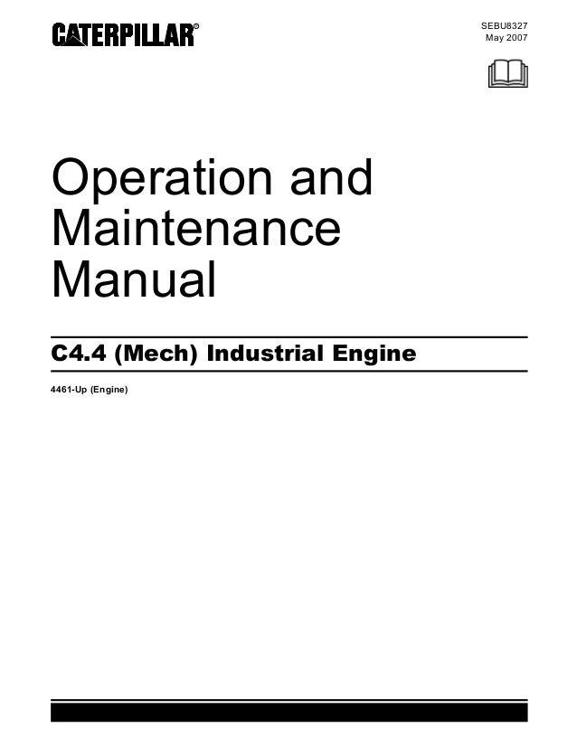 manual de operacion y mantenimiento motores c4 4 acert