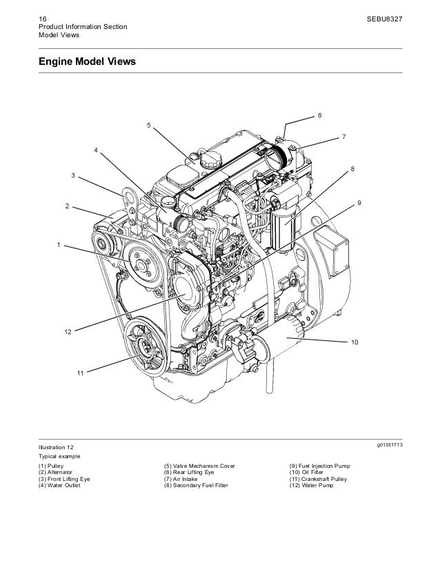 Cat C4 Engine Diagram