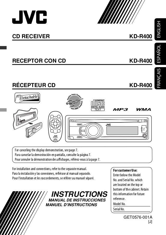 Jvc Kd S29 Manual - User Manual Guide •