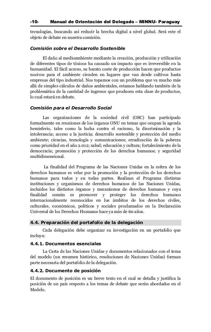 Manual de Orientación del Delegado