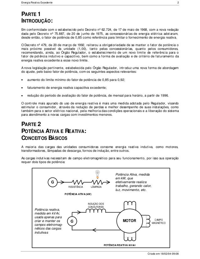 Manual de orienta o aos consumidores energia reativa for Savio 724 ex manuale