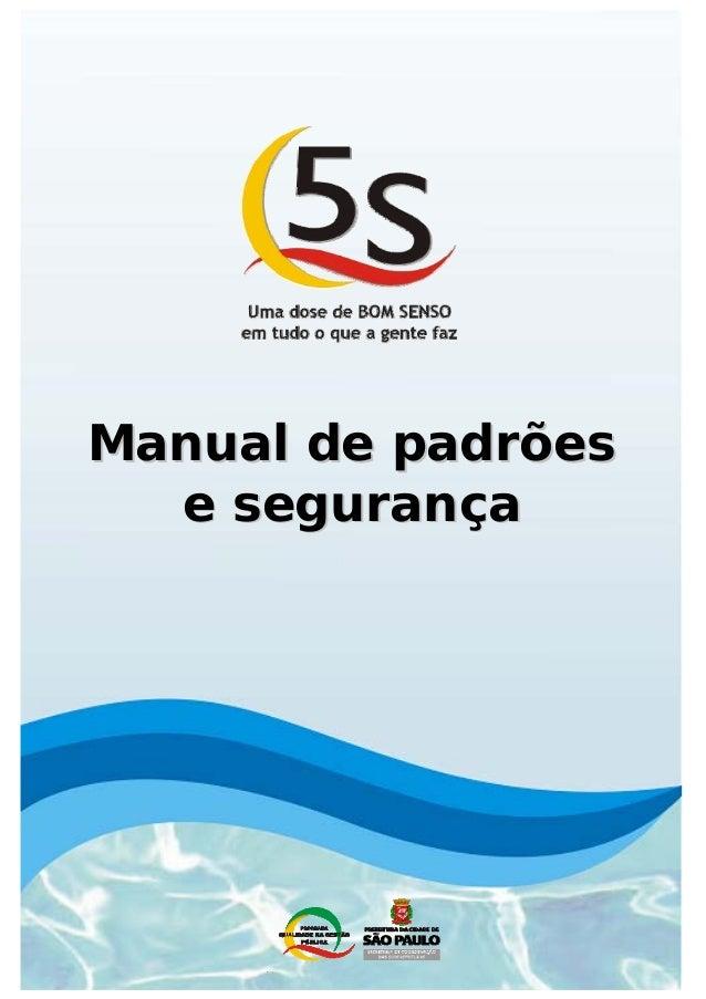 Manual de padrões  e segurança