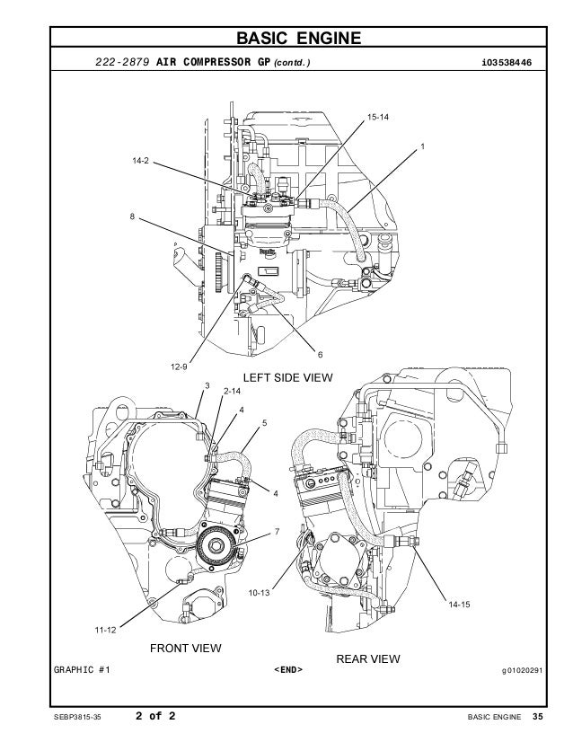 Cat C15 Acert Air Compressor Diagram